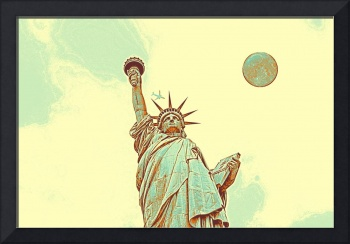 The Fool Blood Moon and The Lady Liberty  4