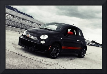 Abarth track front