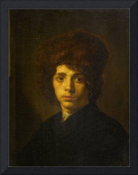 Young Man with a Fur Hat, David Bailly, c. 1635 -