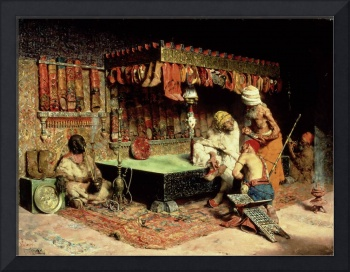 The Slipper Merchant, 1872 (oil on canvas)