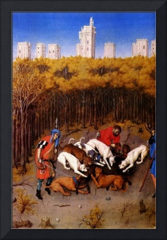 Limbourg Brothers - Scene from Three Rich Hours