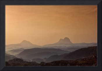 Suilven and Canisp Sunrise