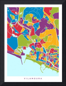 Vilamoura Portugal City Street Map