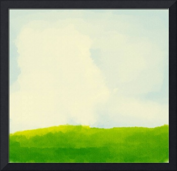 background texture painting green