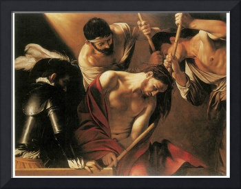 Caravaggio's The Crowning with Thorns