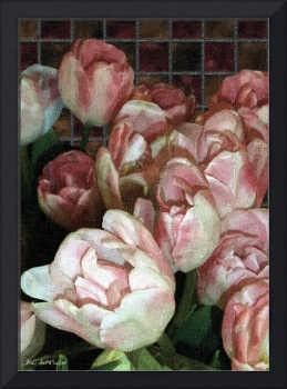 Dutch Tulips, Dutch Tile