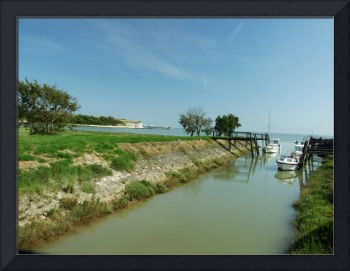 French Canal off of the Atlantic coast
