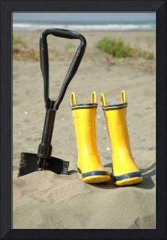 Boots and Shovel