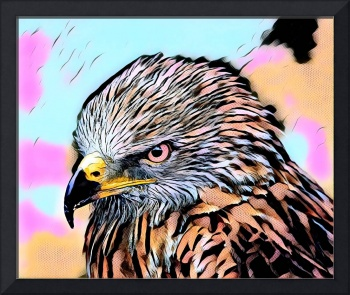 Eagle Pop Art comic