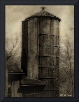 Silo at Sunrise
