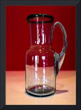 Pitcher Picture in Red