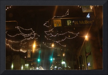 W. McBee and Holiday Lights