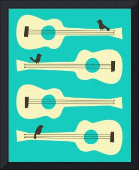 BIRDS ON GUITAR STRINGS 2