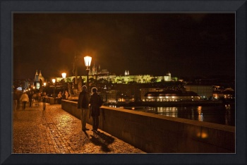 Couple On The Charles Bridge 2, Prague