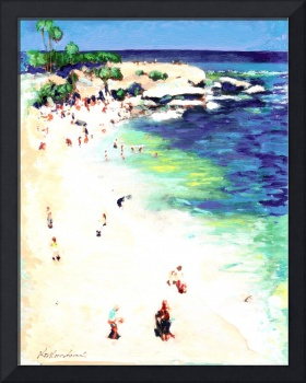 Sunny Day At The Cove, La Jolla California