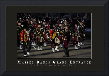 Massed Bands March In