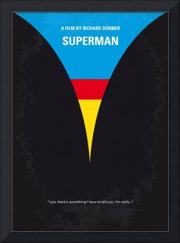 No086 My Superman minimal movie poster