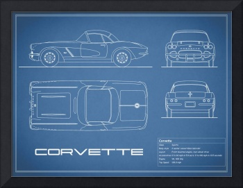 Corvette C3 Blueprint
