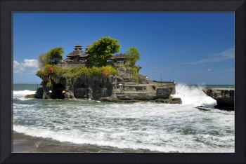 Temple in High Tide