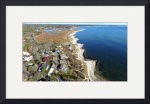 South Chatham, Cape Cod Aerial by Christopher Seufert