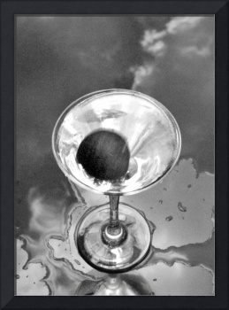 Silver in the Glass, STILL LIFE BEVERAGE PHOTOGRAP