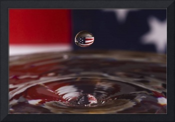 Patriotic Water Drop
