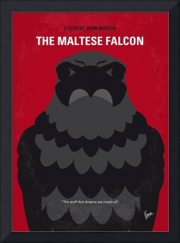 No780 My The Maltese Falcon minimal movie poster