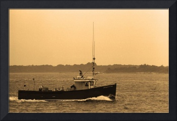Fishing Boat - Piscataqua River, Maine