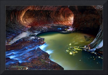 The Subway in Zion National Park