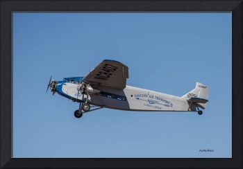 Ford Tri-Motor In Flight