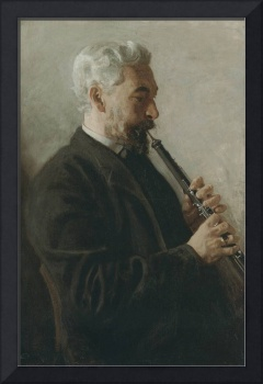 Oboe Player (Portrait of Dr. Benjamin Sharp)