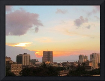 Sunset in Havana II