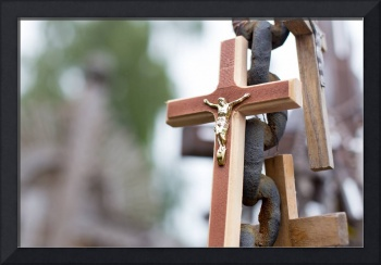 Hill of Crosses -- Chain and Cross