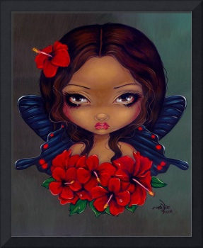 Red Hibiscus Fairy