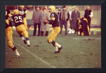 Bart Starr ready to throw