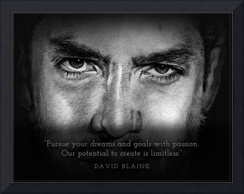 Inspirational Portrait - David Blaine