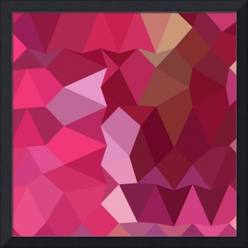 Brilliant Rose Pink Abstract Low Polygon Backgroun