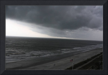 Foreboding Clouds Over Sea 5