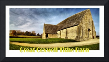 The Tithe Barn at Great Coxwell