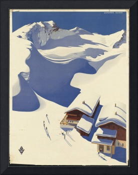 Austria Vintage Travel Poster Ad Retro Prints