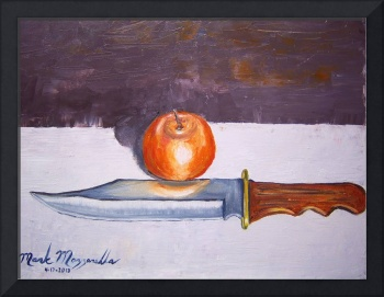 Honeybell Orange and Bowie Knife