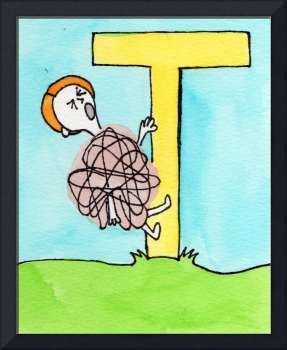 T is for Temper Tantrum