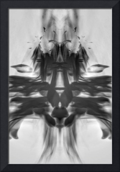 Black and White Fire Abstract #2, Edit B, 20 April