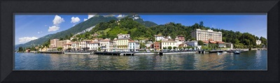 Town at the waterfront Tremezzo Lake Como Como Lo