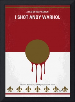 No1000 My I Shot Andy Warhol minimal movie poster