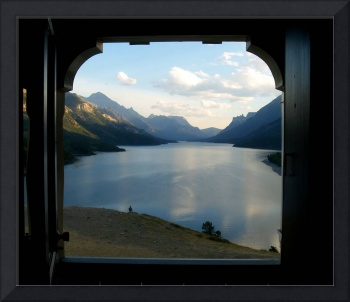 Lake Waterton from Prince of Wales Hotel