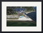 Wychmere Harbor Beach and Tennis Club Aerial #4 by Christopher Seufert