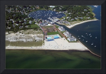 Wychmere Harbor Beach and Tennis Club Aerial #4