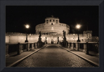 Quiet Night At Castle Sant Angelo