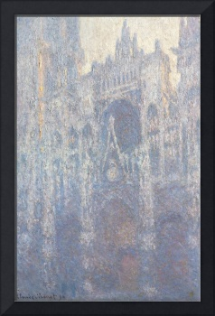 The Portal of Rouen Cathedral by Monet
